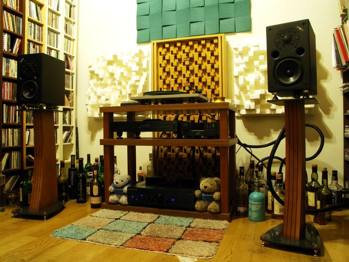 韓信點兵:我家的音響系統器材一覽(2016.04.23 update)